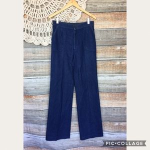 VTG Early 70s Levis Rare High Waist Wide Leg Jeans
